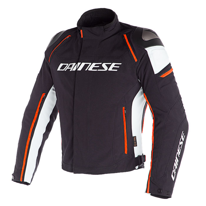 Dainese Racing 3 D-dry Jacket Black Orange