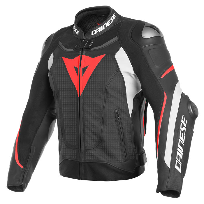 Dainese Super Speed 3 Perforated Jacke Rot