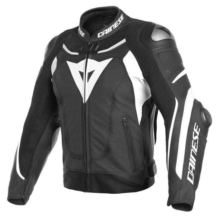 Dainese Super Speed 3 Perforated Jacke schwarz weiß