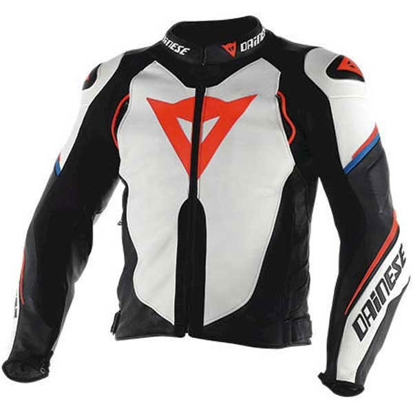 Dainese Super Speed D1 Leather Jacket White