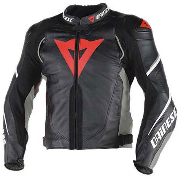 Dainese Super Speed D1 Perforated Leather Jacket Black