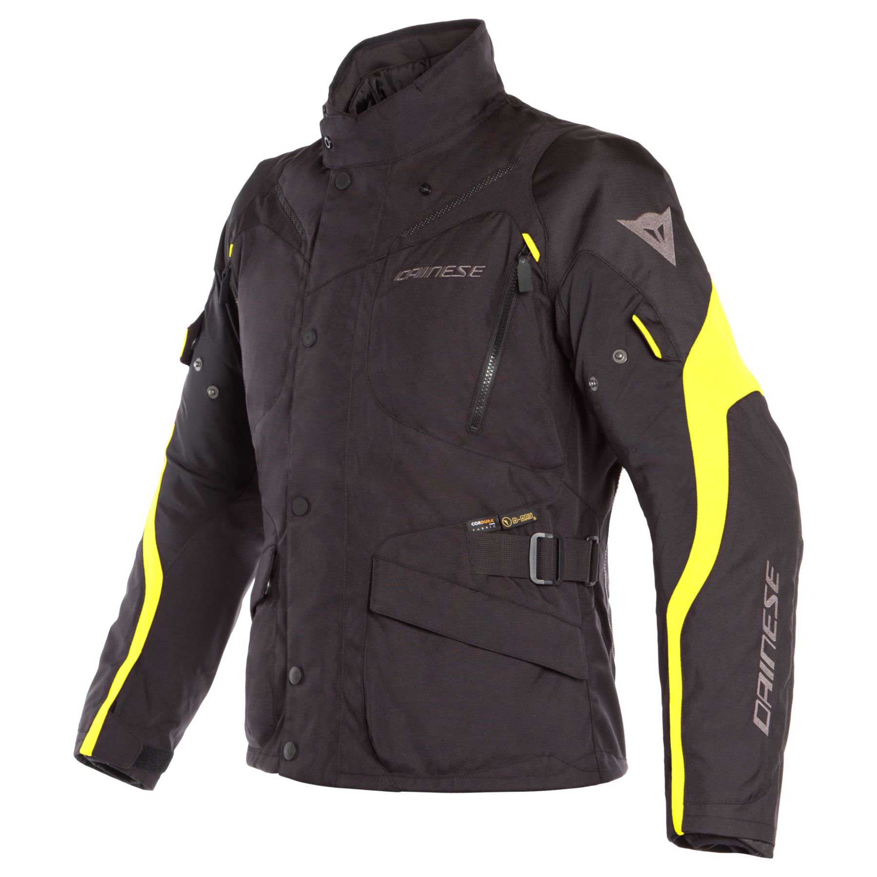 Dainese Giacca Tempest 2 D-dry Nero Giallo Fluo