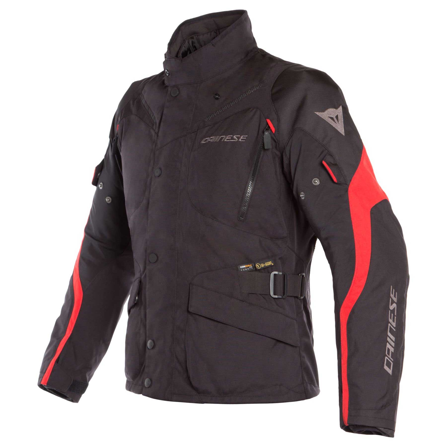 Dainese Giacca Tempest 2 D-dry Nero Rosso