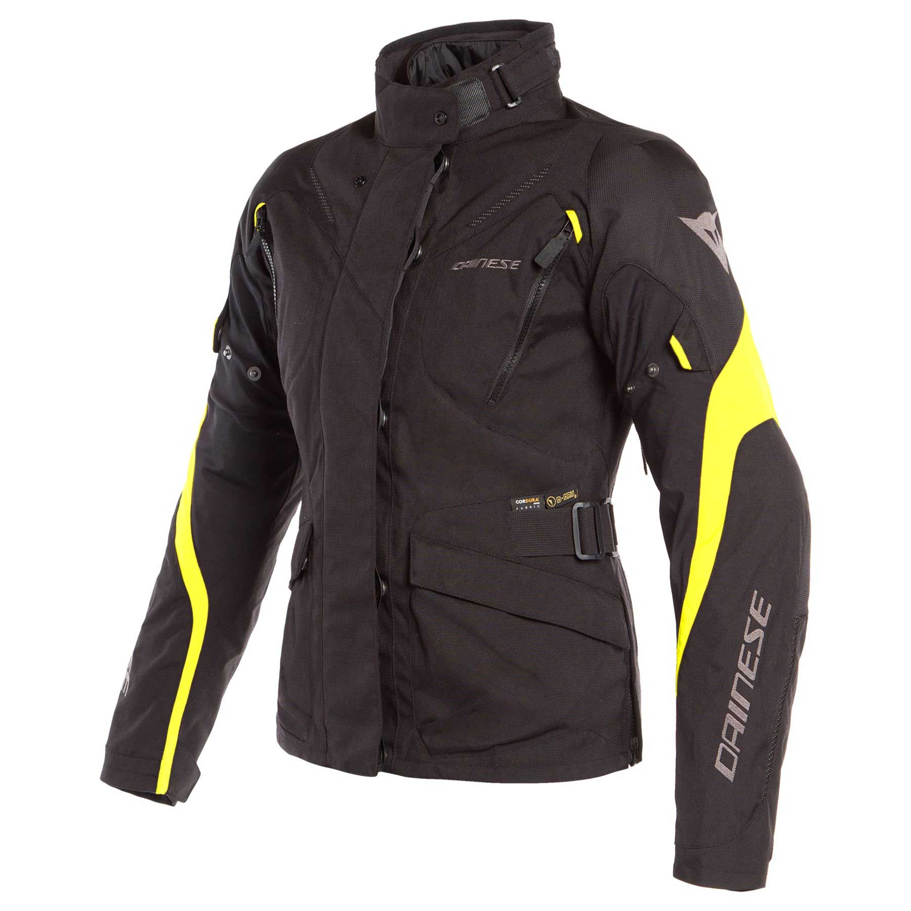 Dainese Giacca Tempest 2 D-dry Donna Giallo Nero