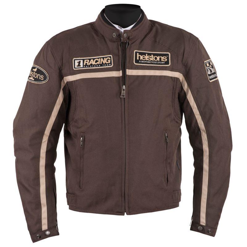 Giacca Moto Helstons Daytona Marrone Beige