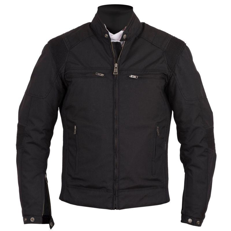 349131c9d Helstons Trust Plain Leather Jacket Black
