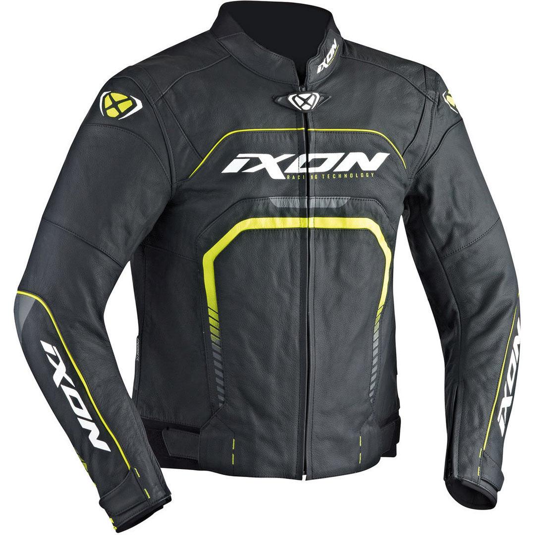 Ixon Fighter Jacket Black White Yellow Fluo