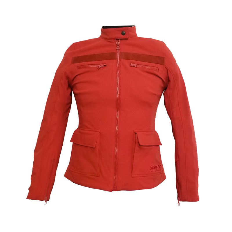 Dainese Kiffa Lady Tex Jacket Red
