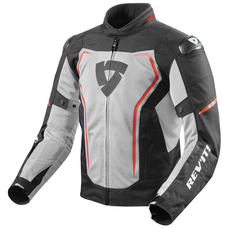 Rev'it Vertex Air Jacke schwarz Rot