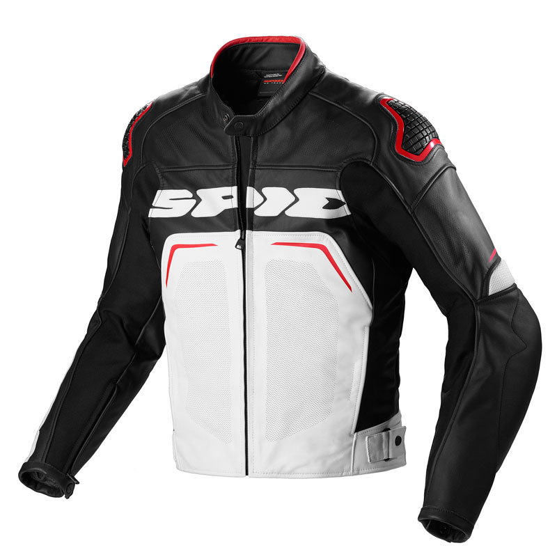 Spidi Evorider Wind Jacket Black White Red