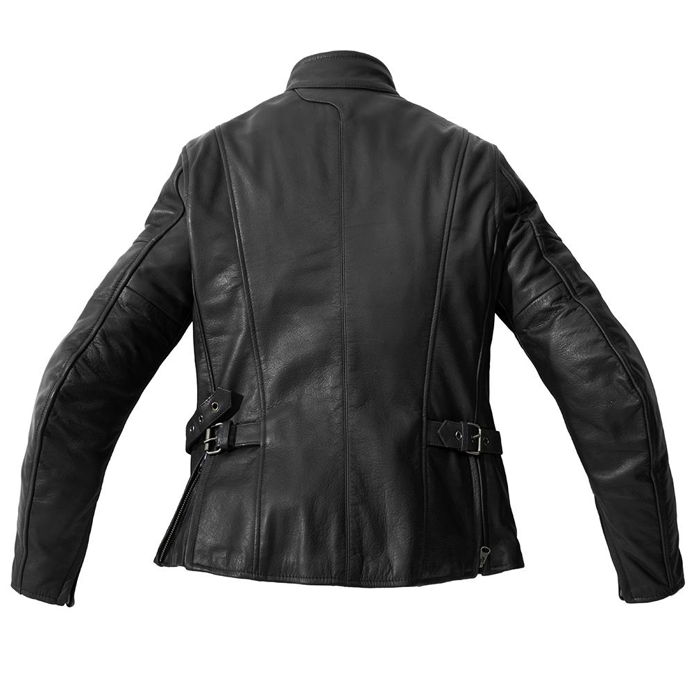 Leather rock jacket