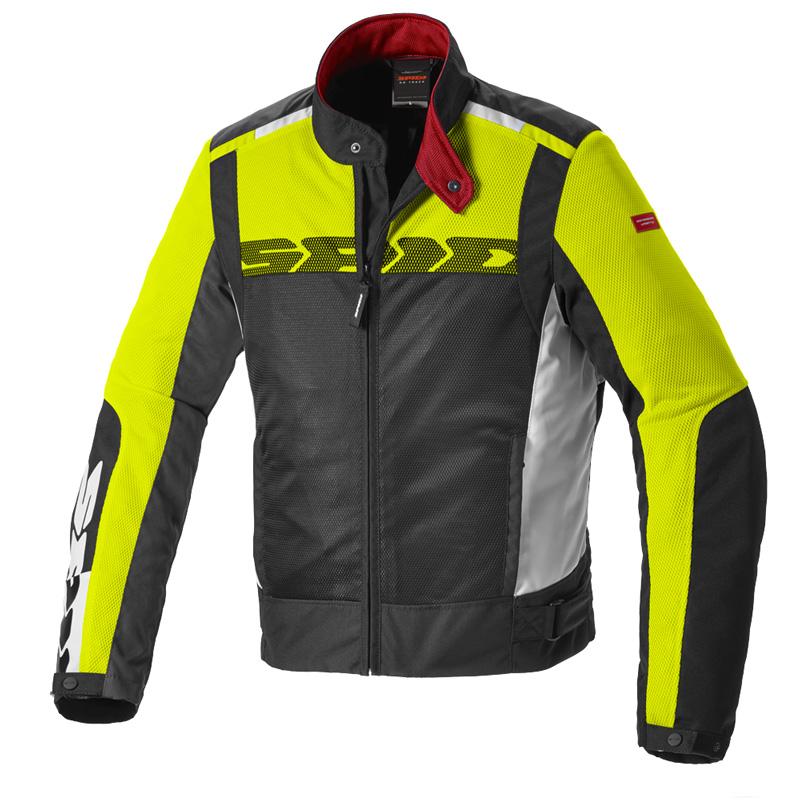 Spidi Solar Net Sport Jacke gelb