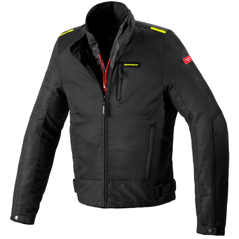Spidi Solar Net WP Jacke schwarz gelb