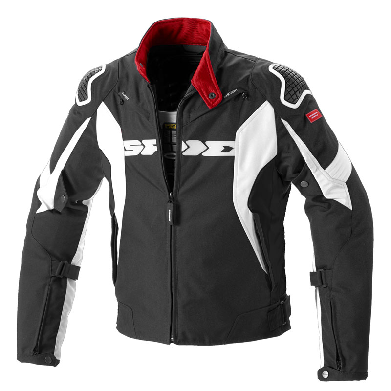 Spidi Sport Warrior H2out Jacke weiss