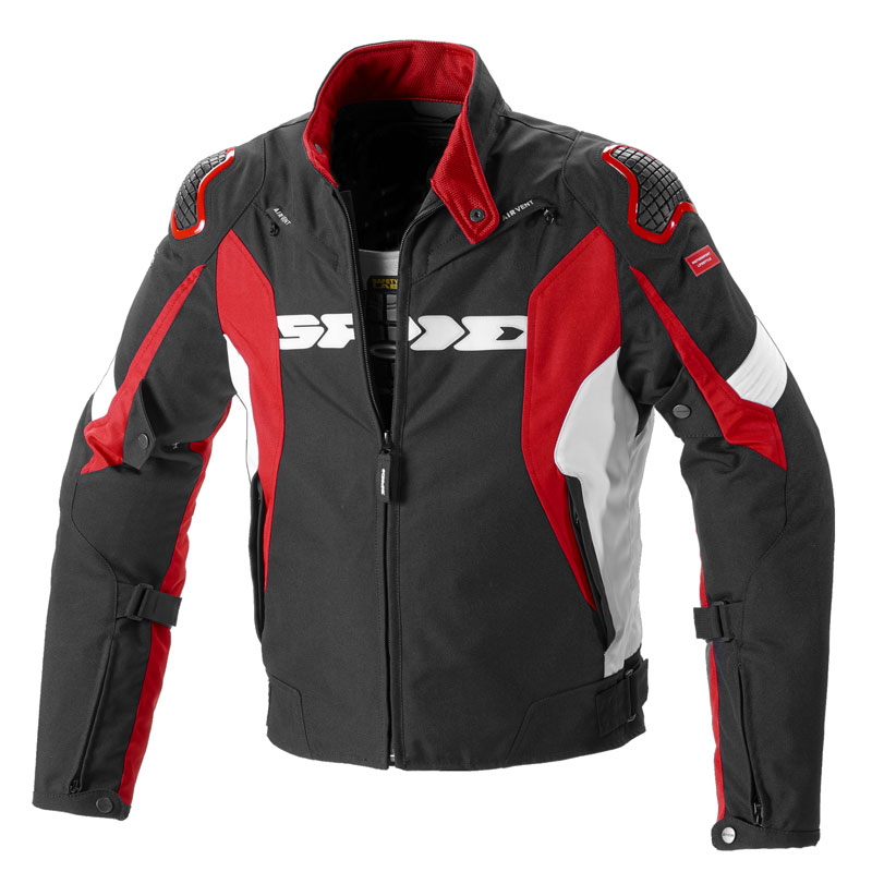 Spidi Sport Warrior H2out Jacke rot