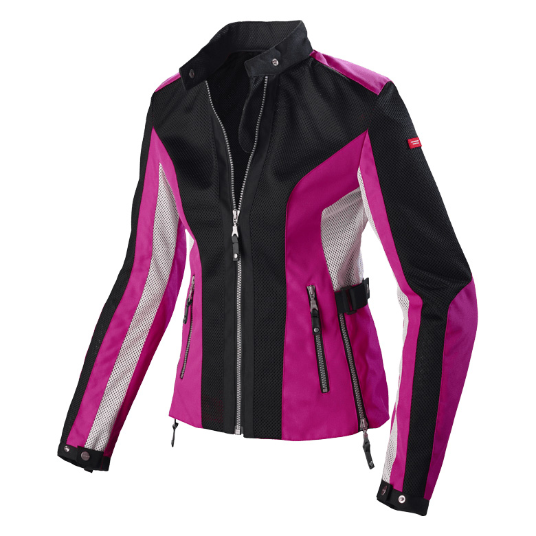 Spidi Summernet Black Fuchsia
