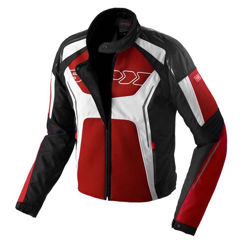 Spidi Tronik Jacket Net Black White Red