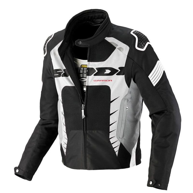 Spidi Warrior Net Jacket Black White
