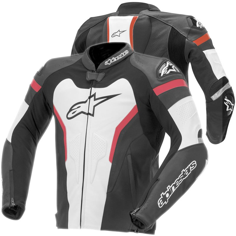 alpinestars gp pro leather jacket red motostorm en. Black Bedroom Furniture Sets. Home Design Ideas