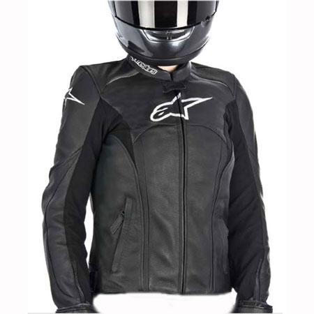 5 Alpinestars Jaws Leather Motorcycle Jacket Black 83544