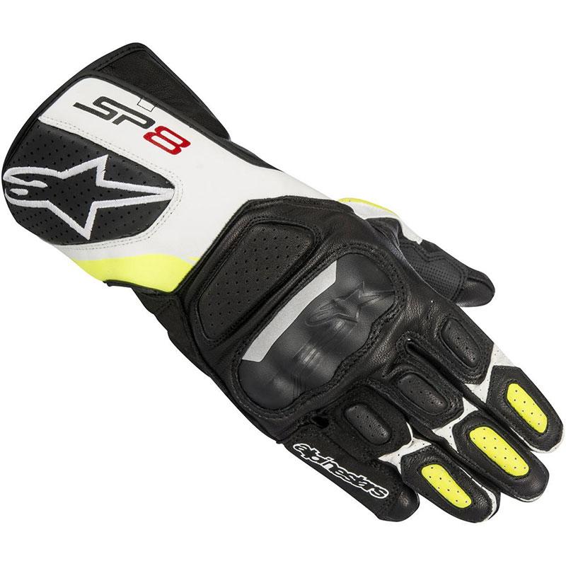 Alpinestars Sp-8 V2 Black/white/fluo Yellow