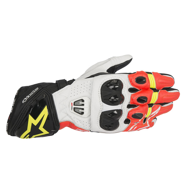 alpinestars gp pro r2 glove red yellow motostorm. Black Bedroom Furniture Sets. Home Design Ideas