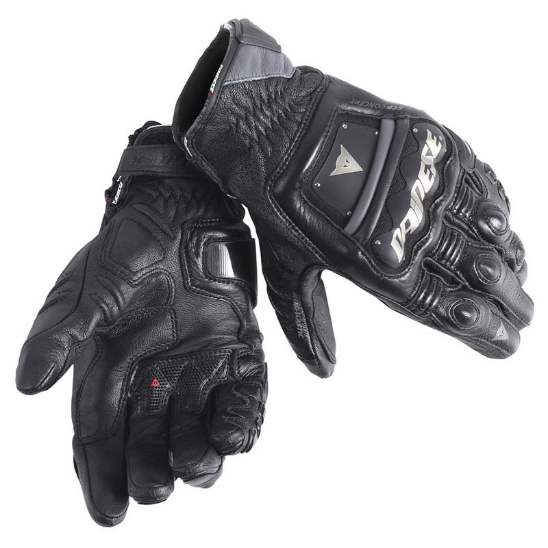 ダイネーゼ4ストローク Evo 手袋 CE ブラック