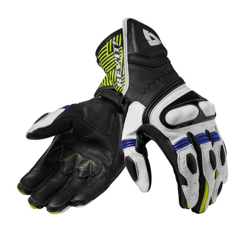 REV/'IT Metis Mens Motorcycle Gloves Black//Blue FGS138-1300
