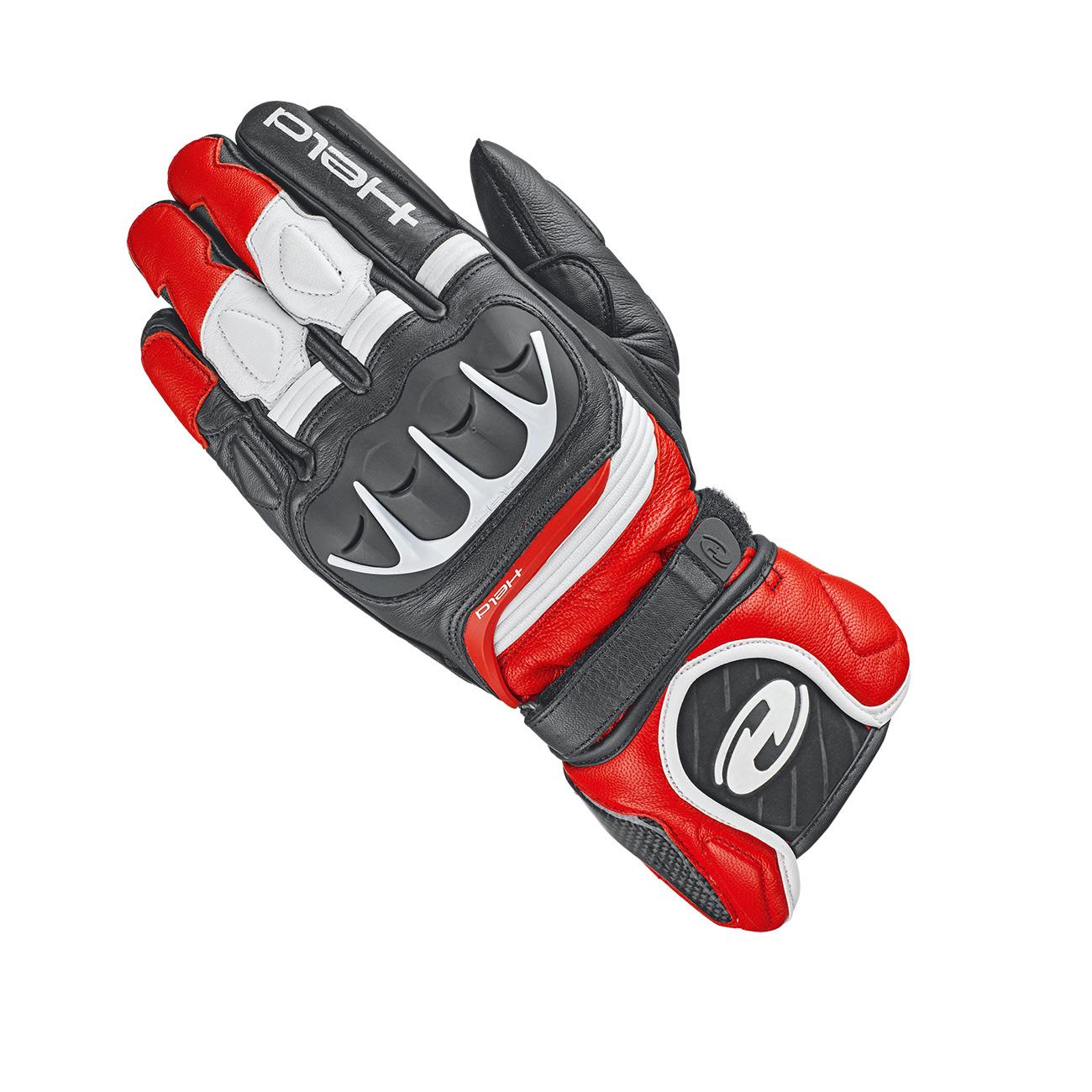 Held Revel 2 Handschuhe schwarz rot