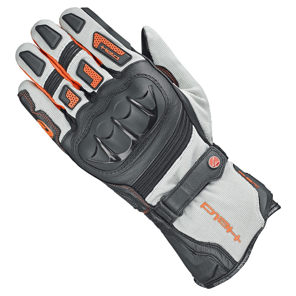 Held Sambia 2in1 Gore-Tex Handschuhe grau orange