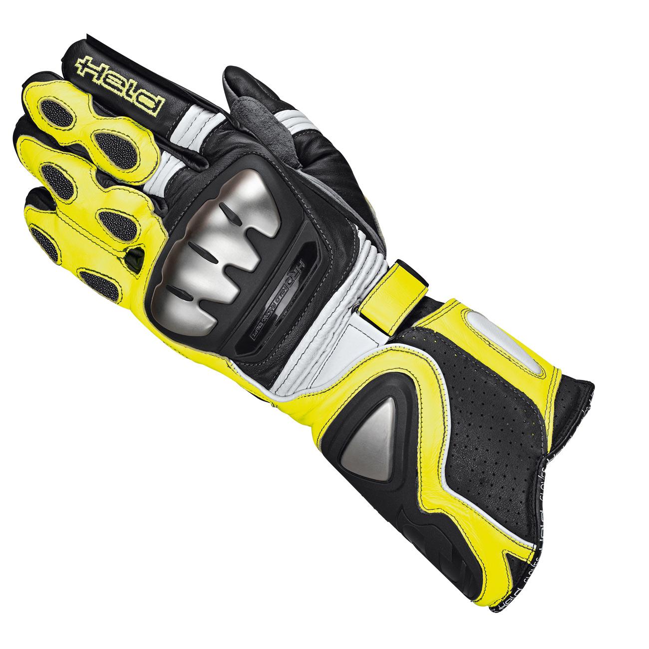 held guanti titan evo nero giallo fluo he 2512 058 guanti. Black Bedroom Furniture Sets. Home Design Ideas