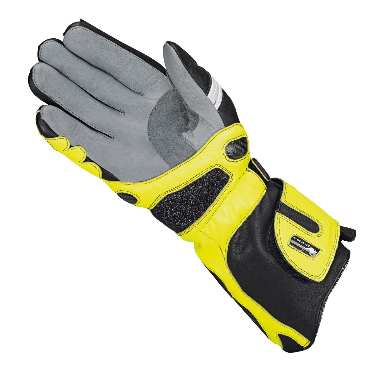 held titan evo gloves black fluo yellow he 2512 058 gloves. Black Bedroom Furniture Sets. Home Design Ideas