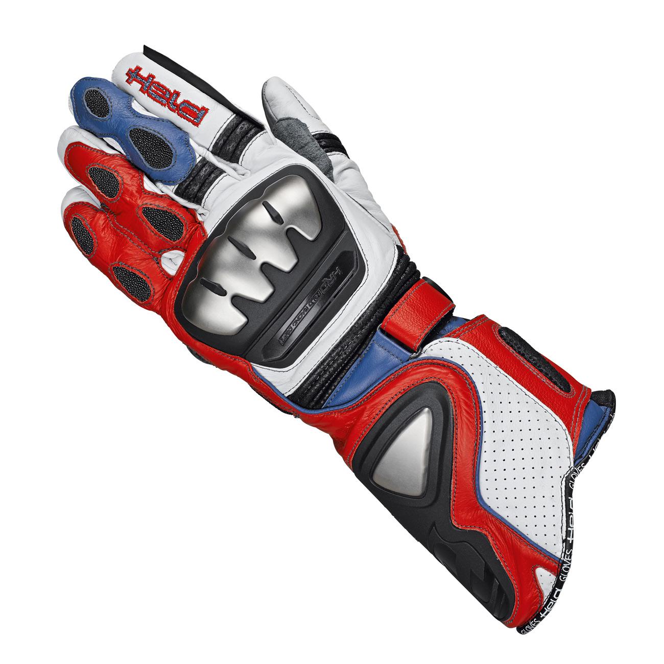 held guanti titan evo bianco rosso blu he 2512 027 guanti. Black Bedroom Furniture Sets. Home Design Ideas