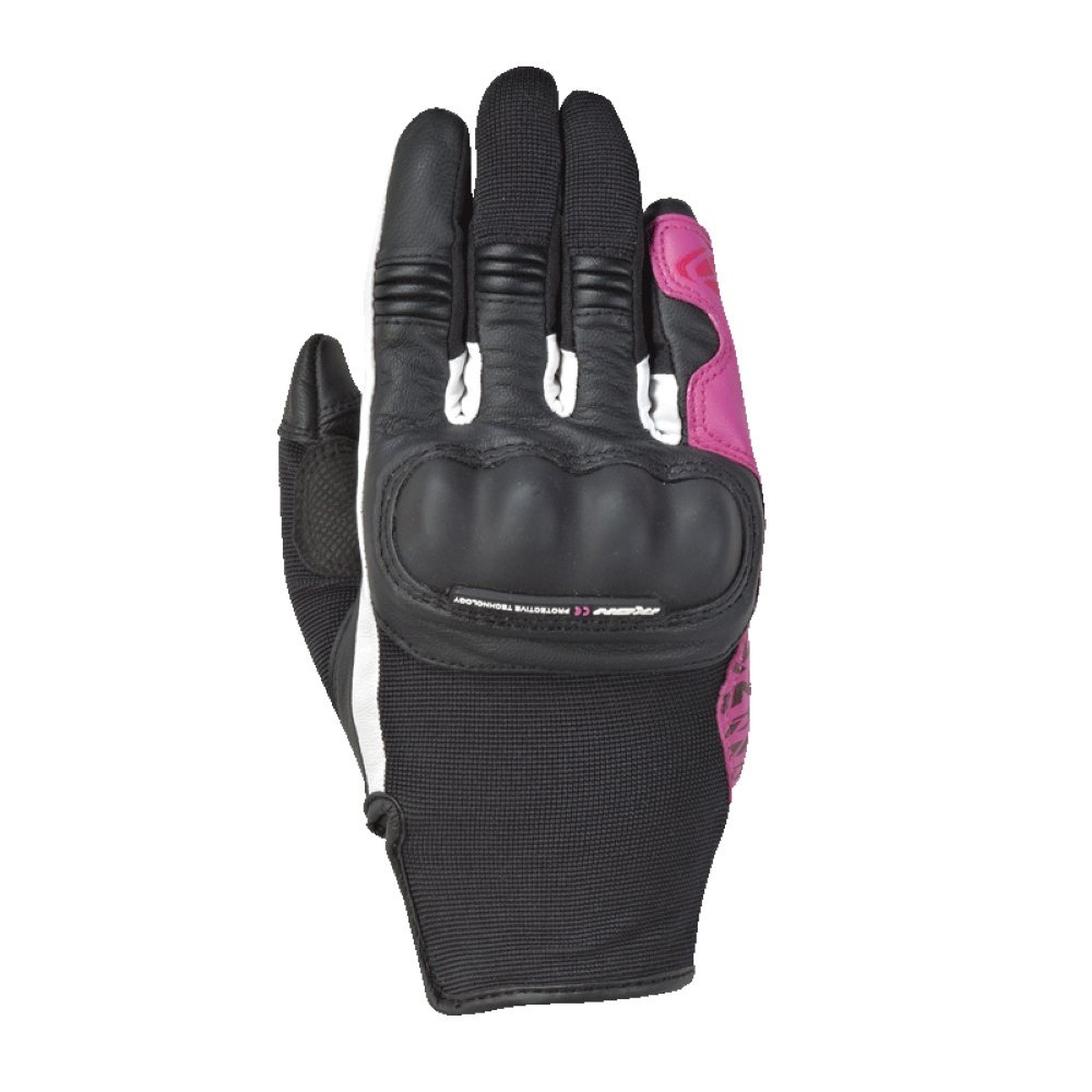 Ixon Rs Grip 2 Damenhandschuhe schwarz fushia