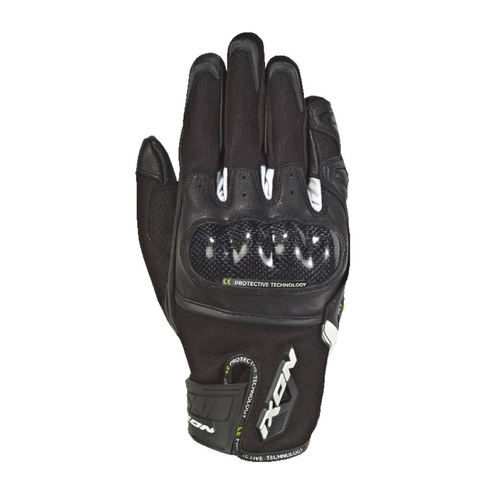 Ixon Rs Rise Air Handschuhe weiß schwarz