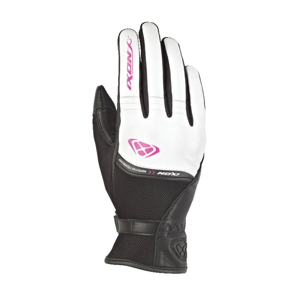 Ixon Rs Shine 2 Damenhandschuhe weiß rosa