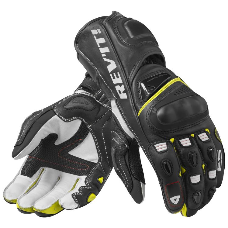 3da7d3d3a3 Revit Jerez 3 Gloves Black White Yellow FGS130-1450 Gloves | MotoStorm