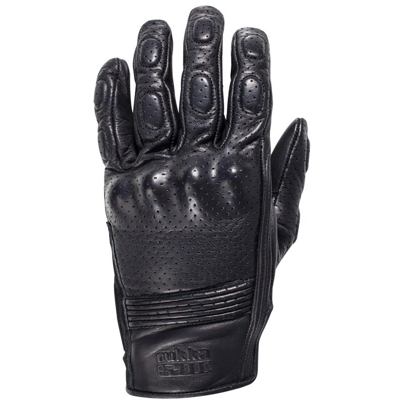 Rukka Fernie Lederhandschuhe schwarz