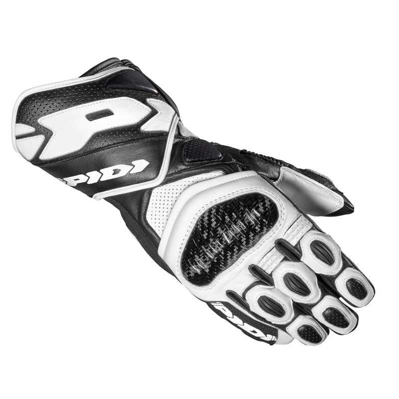 Spidi Carbo 7 Handschuhe weiss