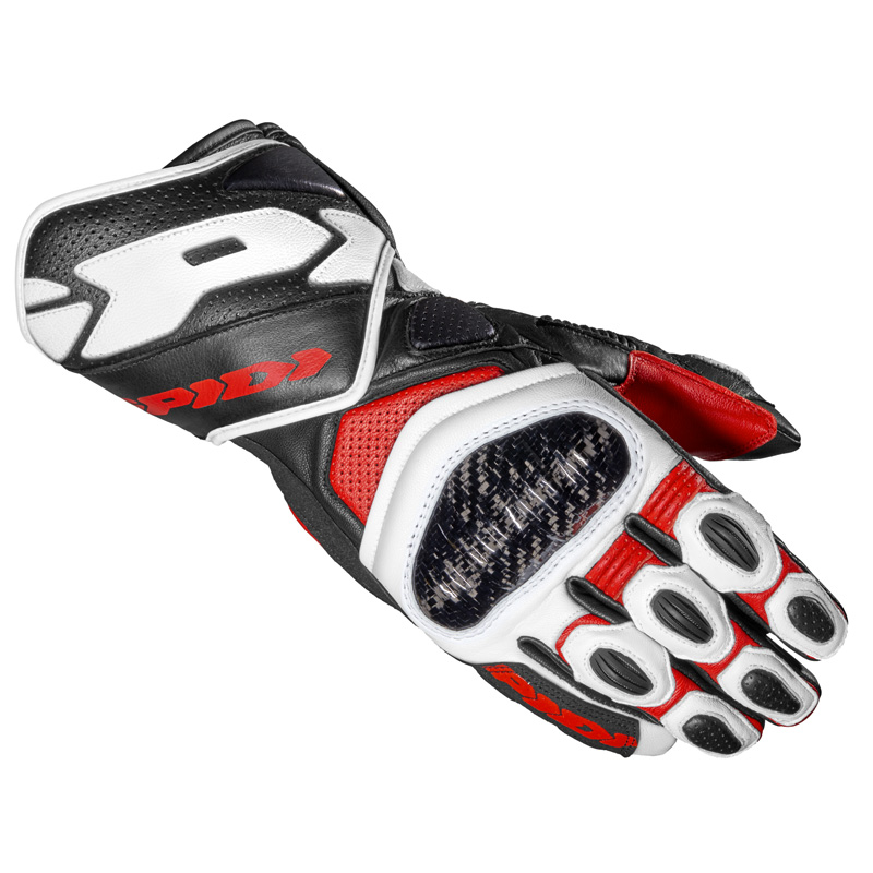 Spidi Carbo 7 Handschuhe rot
