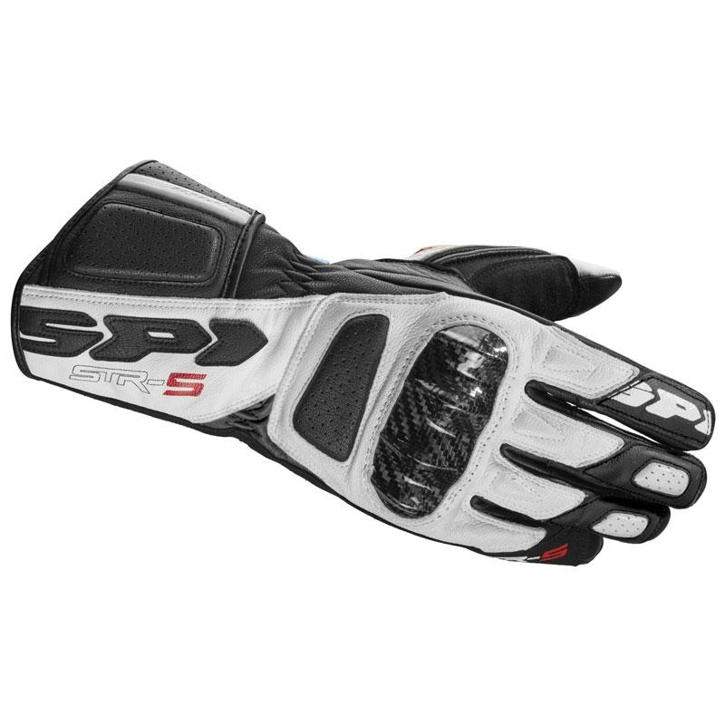 Spidi Str-5 Handschuhe schwarz-weiß