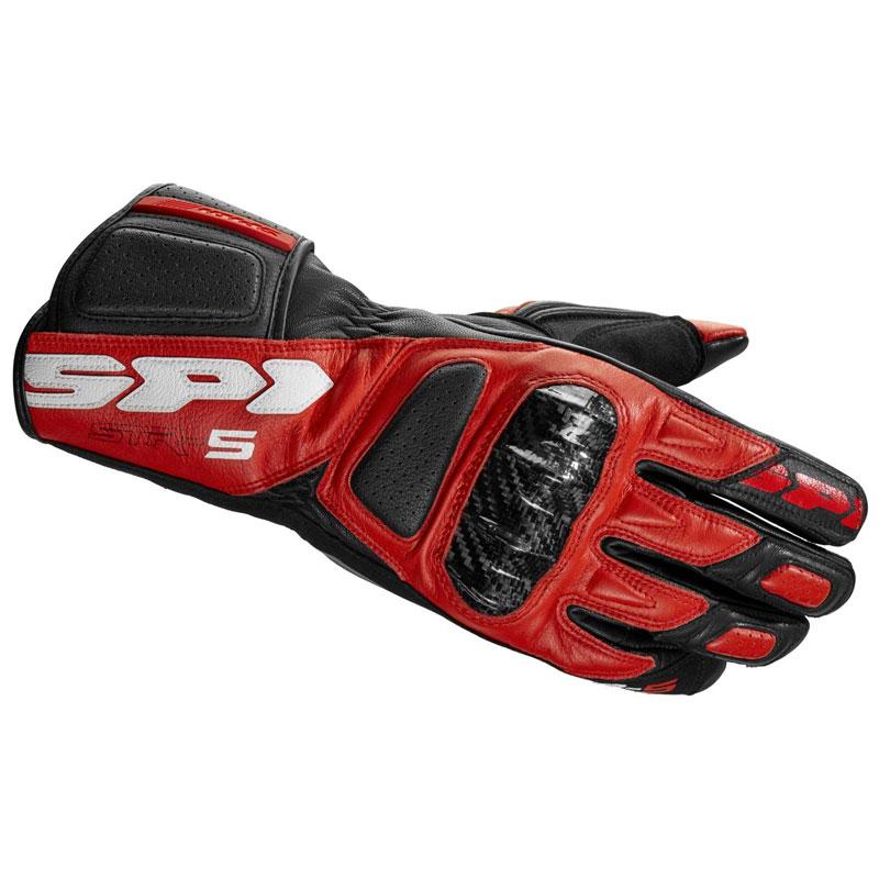 Spidi Str-5 Handschuhe schwarz-rot