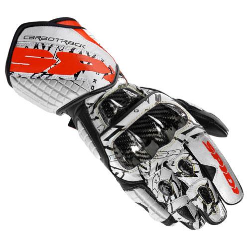 Spidi Carbo Track Replica Handschuhe rot