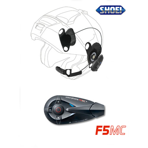 Interphone F5mc + Pro Sound Per Shoei | MotoStorm