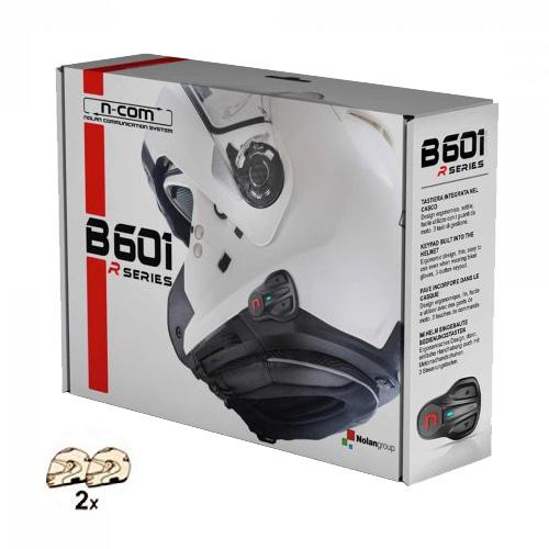 Nolan N-com B601r Confezione Doppia