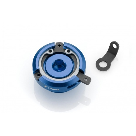 Rizoma Tappo Carico Olio Motore Tp013a Blu