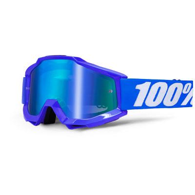 100% Accuri Reflex Blue Mirror Blue Lens