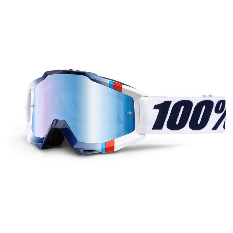 Image of 100% ACCURI WHITE CRYSTAL mirror blue lens a81be4b2ad6e6daa03a10c527f6b641b13856a93