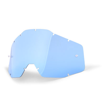 100% Anti Fog Lens Blue