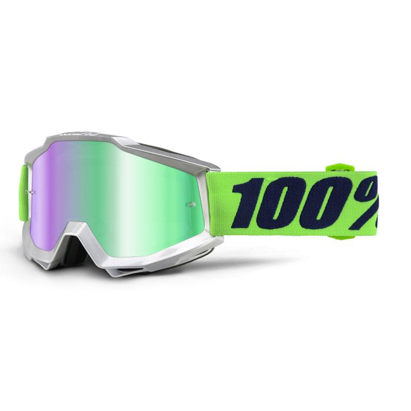 Image of 100% Accuri Nova Mirror green lens b85370c8bfcdb26ccfc6596997d61948b2b0b068